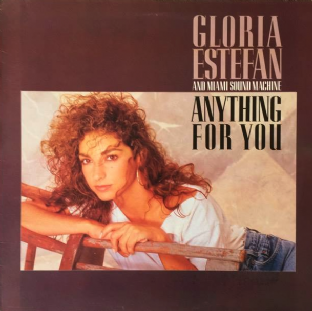 Gloria Estefan And Miami Sound Machine - Anything For You (LP) (VG-/VG-)